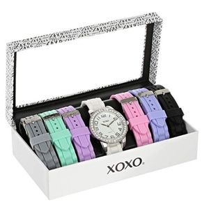 Women's Quartz Metal and Rubber Casual Watch